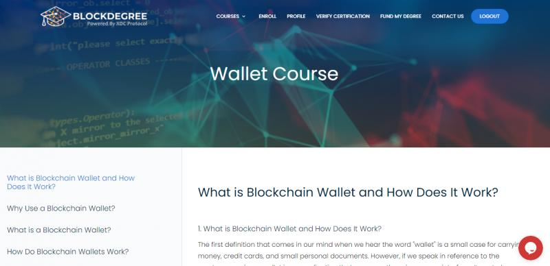 BlockDegree Launches New Online Certification Course