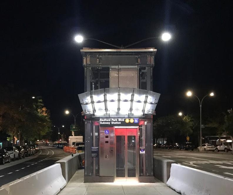 MARAJ ELECTRIC DBE Contractor Completes Electrical Work for NYC Transit Authority at Bedford Pk Blvd