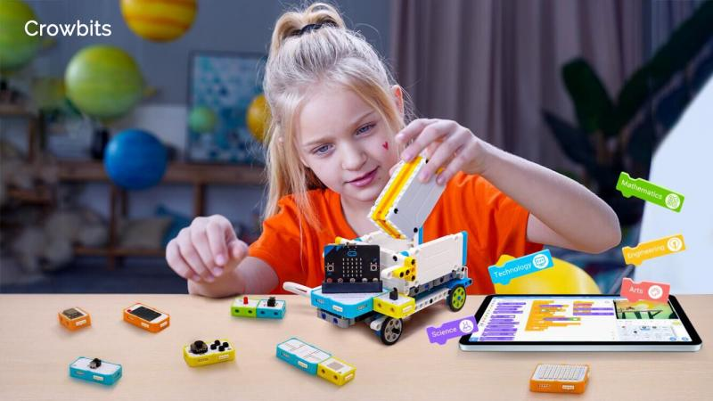 Crowbits Launches Creative Electronic Blocks For STEM Learning