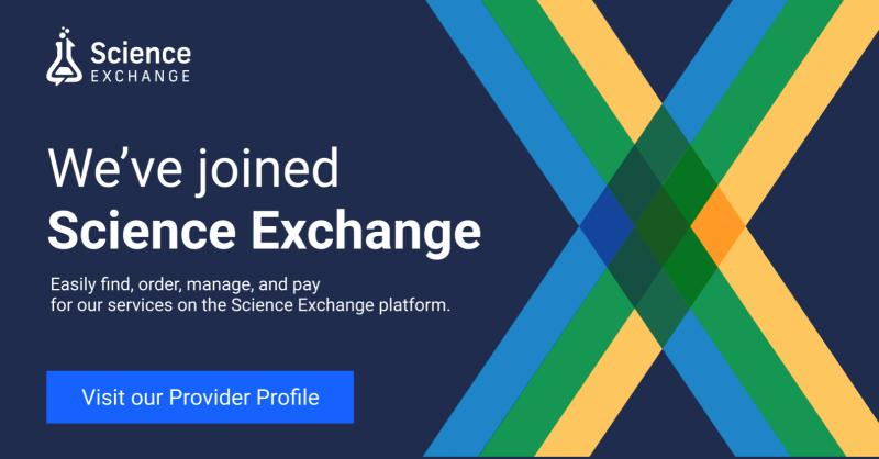 myriamed has joined Science Exchange