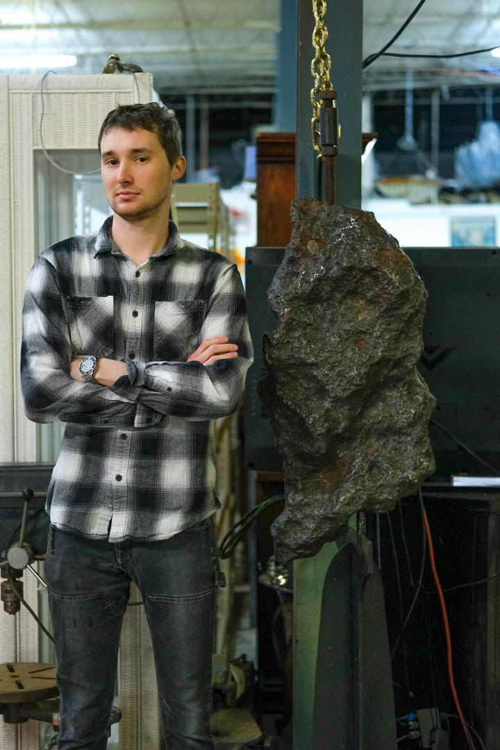 Rare, Museum-Quality, 394-Pound Meteorite will Come Up for Bid