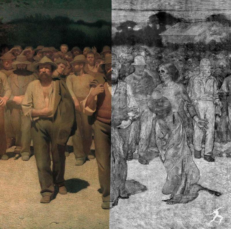 """""""Quarto Stato"""" from Giuseppe Pellizza"""