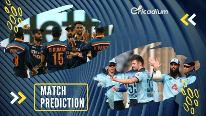 England Tour of India 2021, 2nd ODI, IND vs ENG Match Prediction