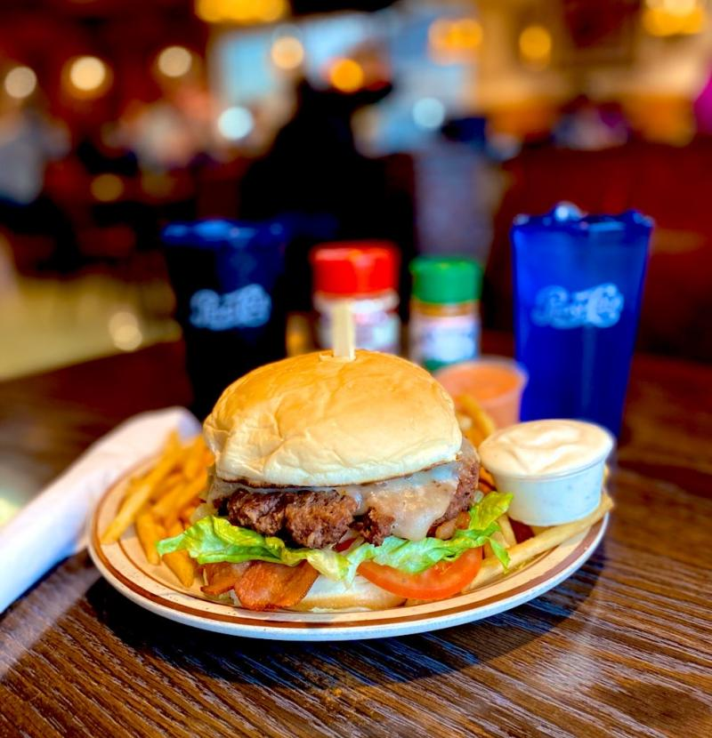Jean's is legendary for their burgers, steaks and home style cooked meals