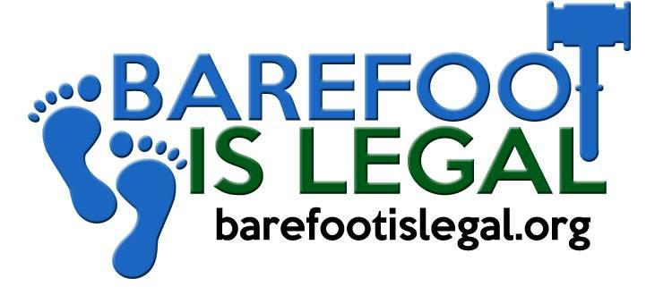 Barefoot Is Legal promotes #NoFootPrisons ro raise awareness of China's forced labor camps in Xinjiang.