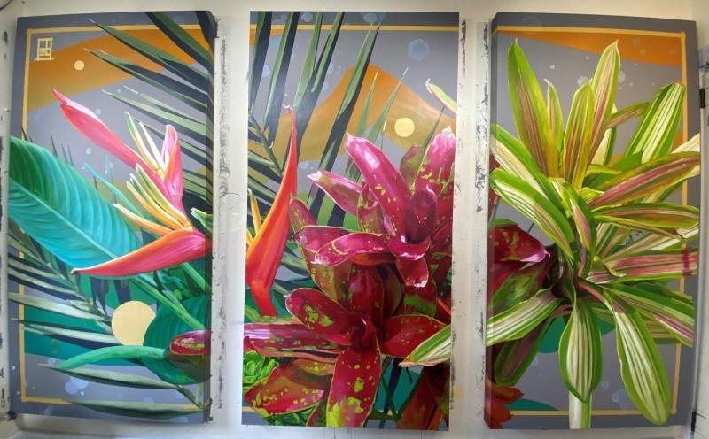 Fort Lauderdale Greenwise Market Features Local Artist, Steven