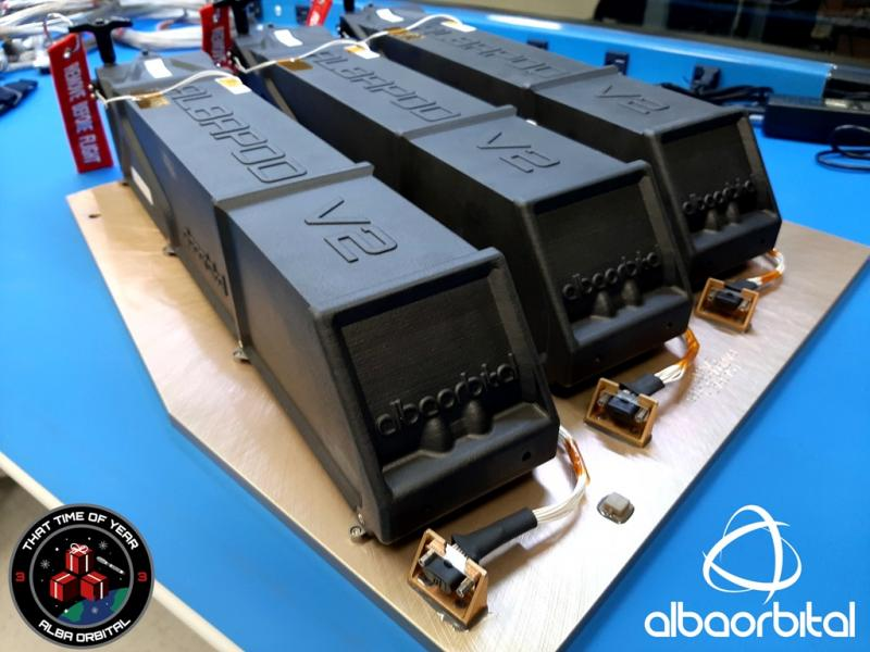 Alba Orbital's AlbaPods manufactured in WIndform XT 2.0 Carbon filled composite material