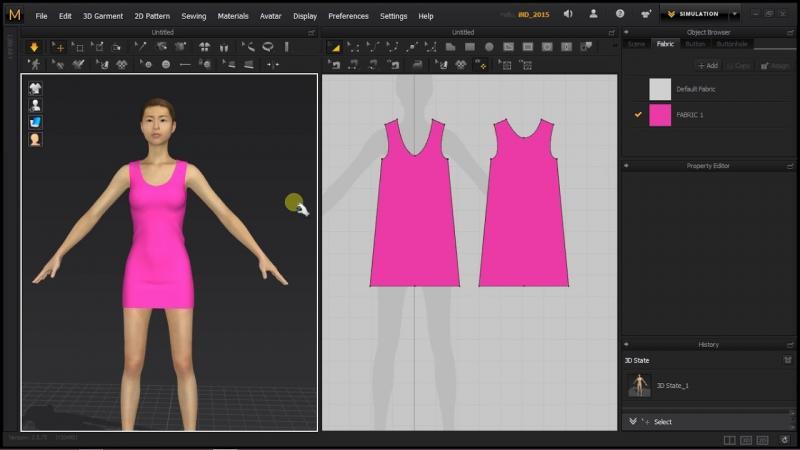 3D Fashion Design Software