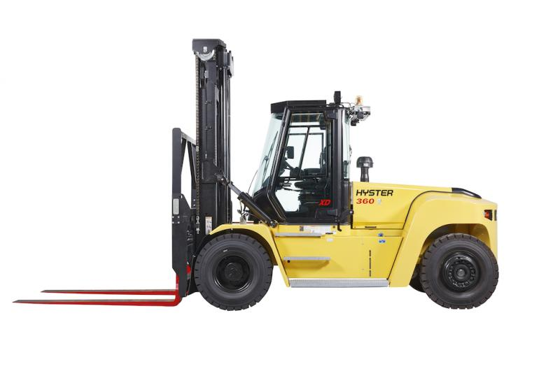 Hyster to Highlight Lift Truck Ergonomics and Telemetry