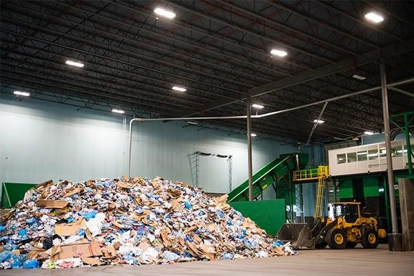 FCC Environmental Services Dallas Materials Recycling Facility can process up to 145,000 tons a year.