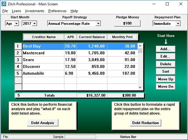 Debt Management Software