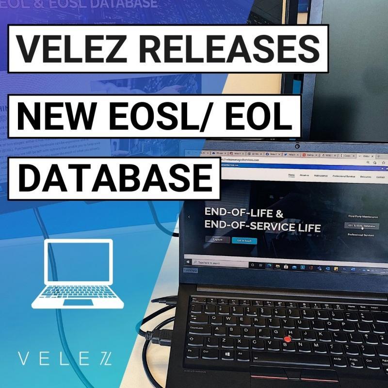 Velez Releases EOSL Database