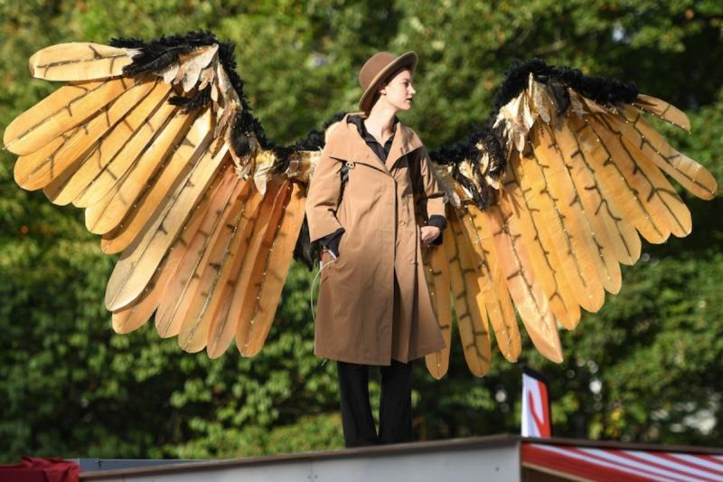 Altonale Hamburg, Germany Angels 2020 by Thomas Panzau
