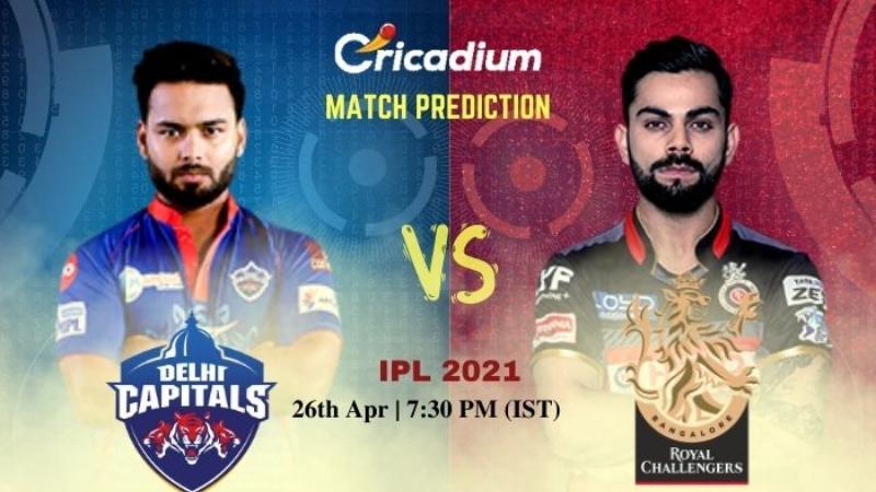 DC vs RCB Today Match Prediction IPL 27-Apr-2021