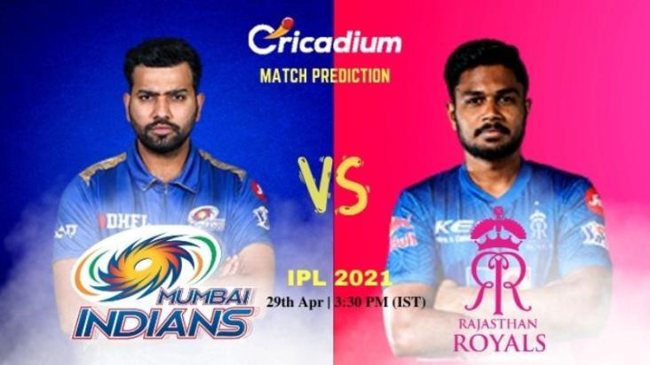 MI vs RR Today Match Prediction 29-Apr-2021