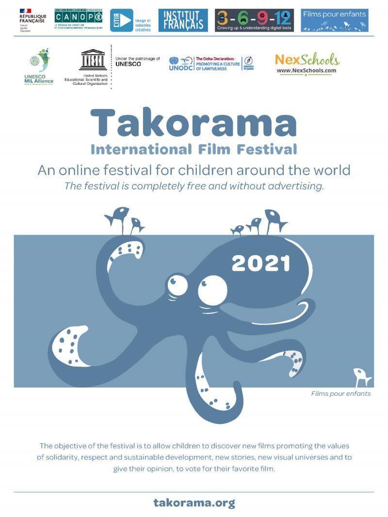 NexSchools Partners with Takorama Online International Children?s Film Festival 2021