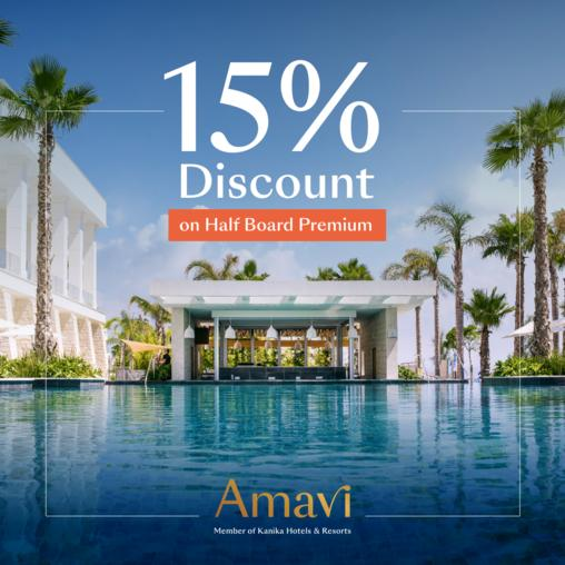 Amavi Hotel in Paphos reopens with a tempting offer