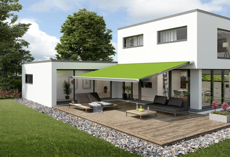 The 'MX-1 compact' by markilux is an awning for those who love great design and modern technology.