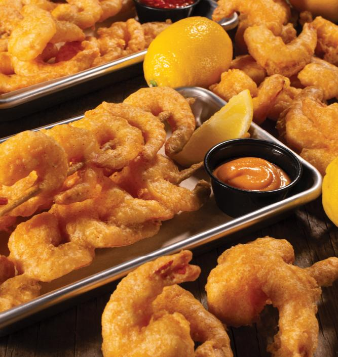Shrimp Skewer Feast