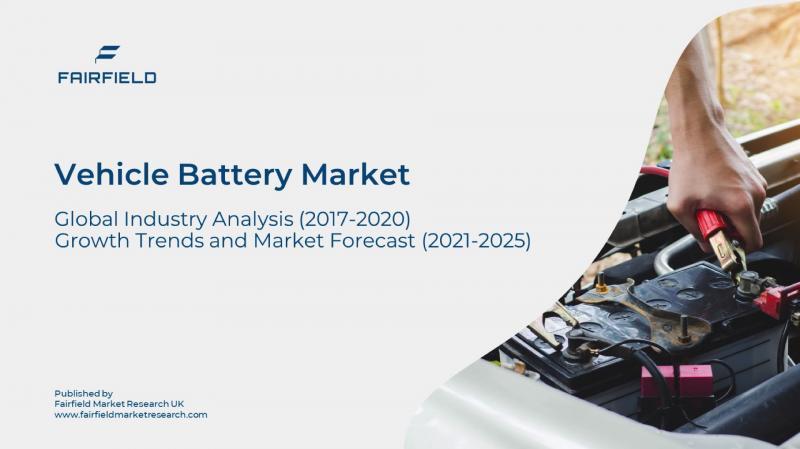 Vehicle Battery Market Worth US$43.48 Billion, Globally,