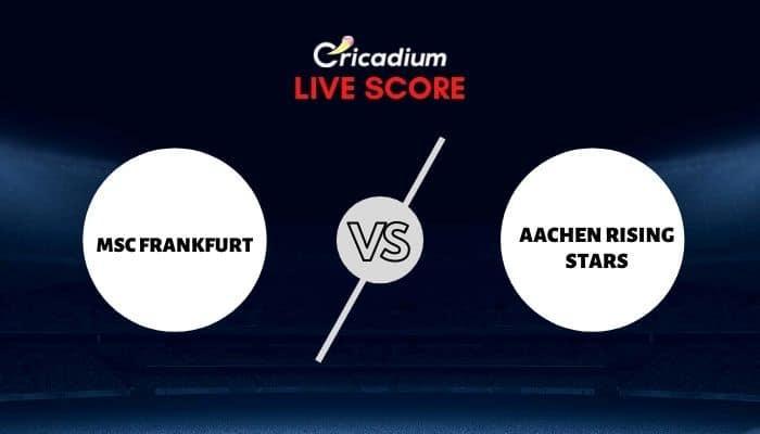 ECS Spain Barcelona - Match 8 MSF vs ARS Today Live Cricket Score