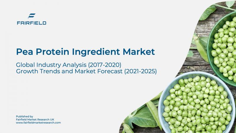 $ 1,374.3 Million Growth Expected in Pea Protein Ingredient