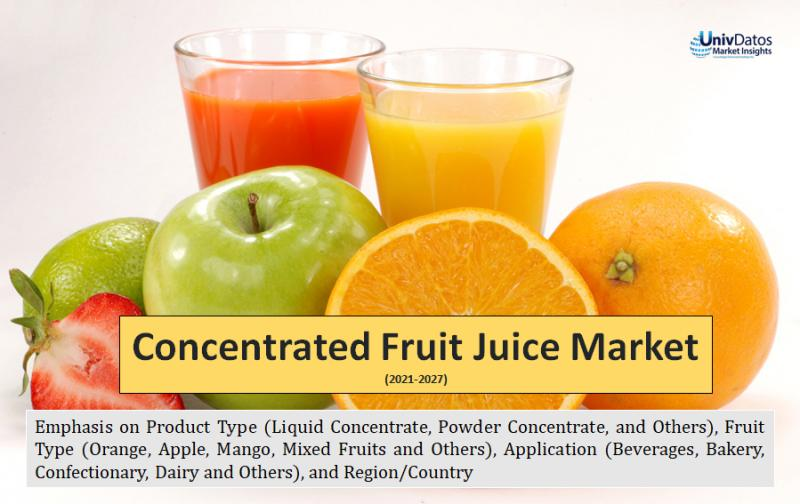 Concentrated Fruit JuiceMarket