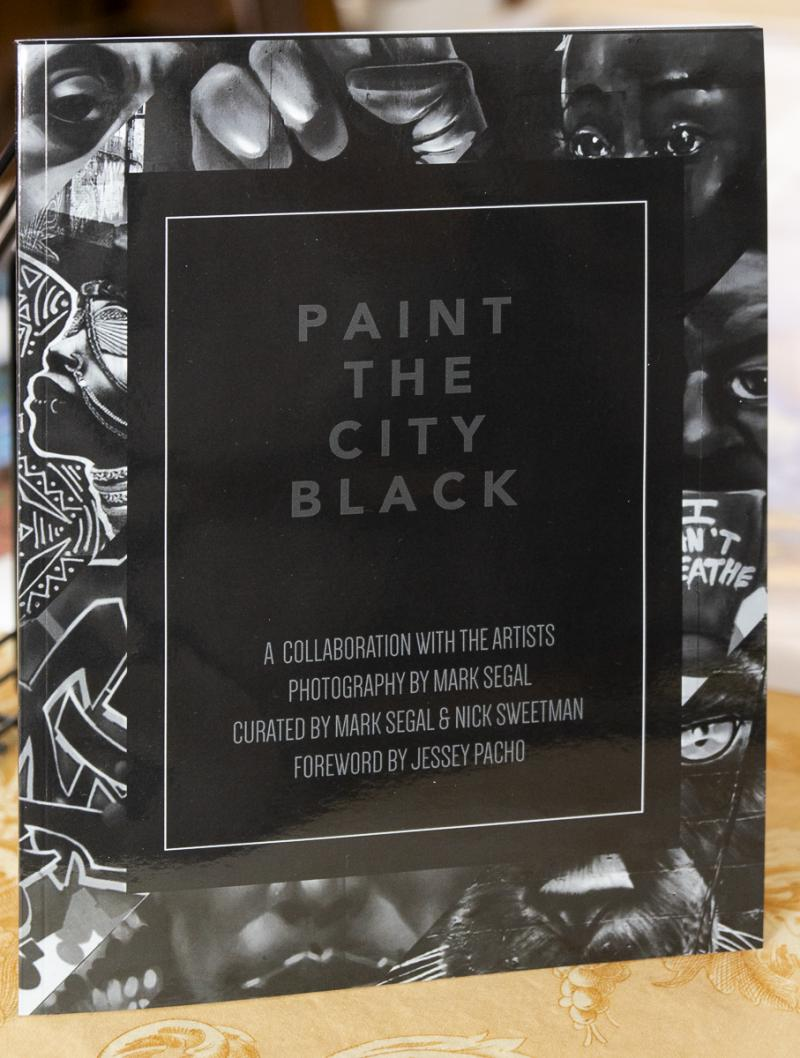 Paint the City Black- book cover