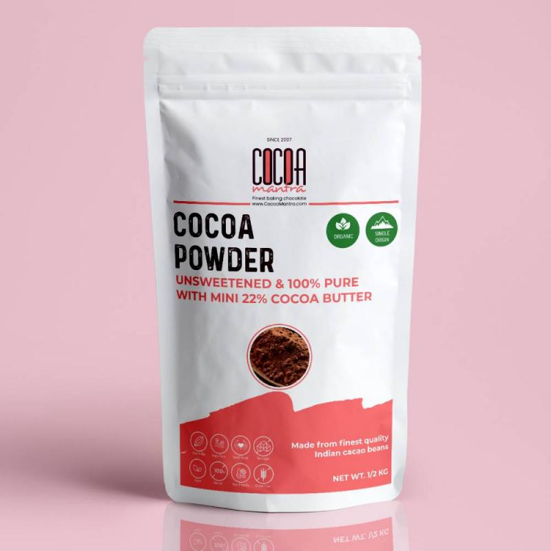 Cocoa mantra - Organic baking chocolate products