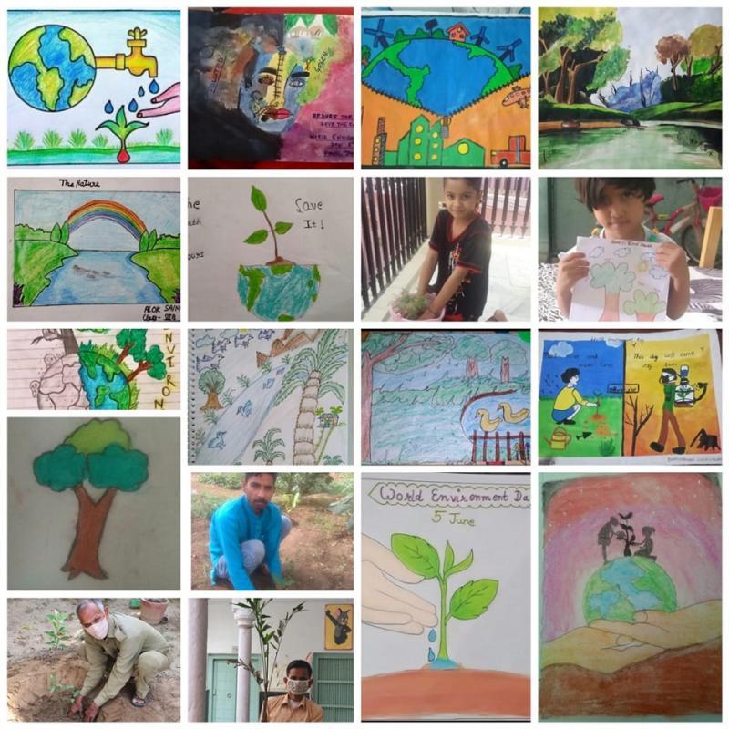 Top Ranking Shekhawati Rajasthan Pilani School JMA Celebrates World Environment Day