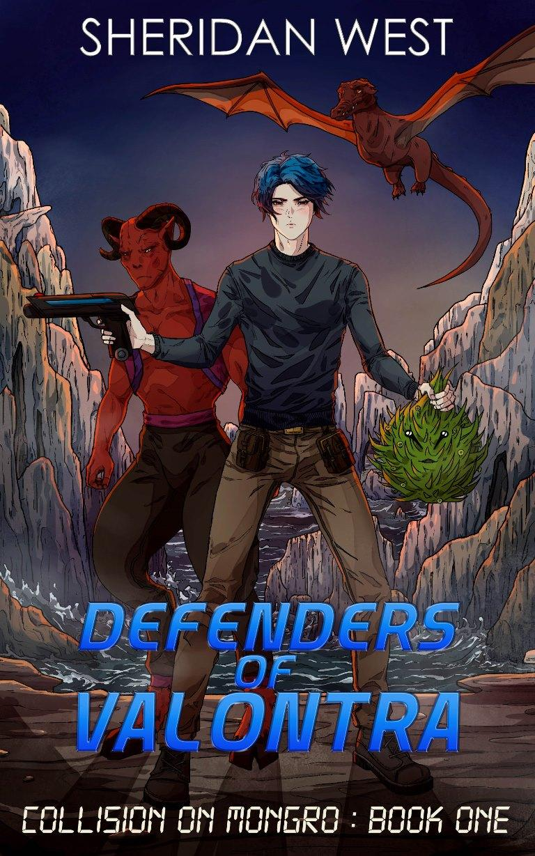 Defenders of Valontra: LGBTQ+ Sci-Fi novel released for