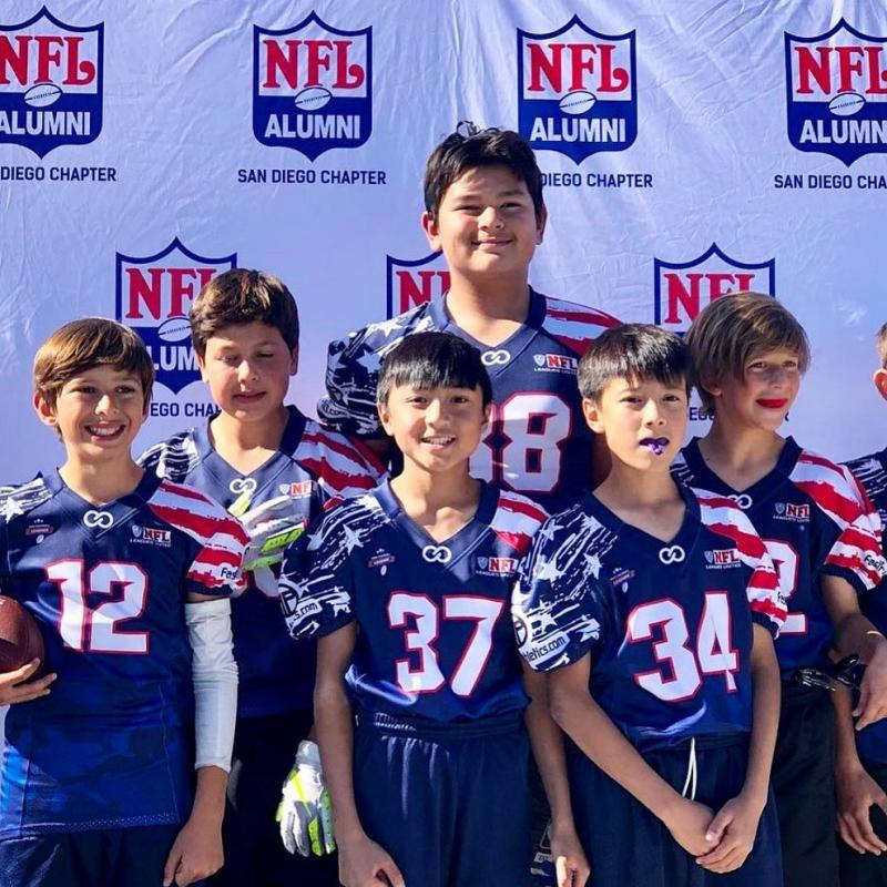 NFL Alumni is just one of the many organizations Wooter Apparel has teamed-up with to design and create customized uniforms.