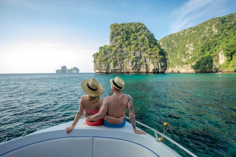 Experience Life in Phuket with Island Hopping through the tropical waters of Phang Nga Bay