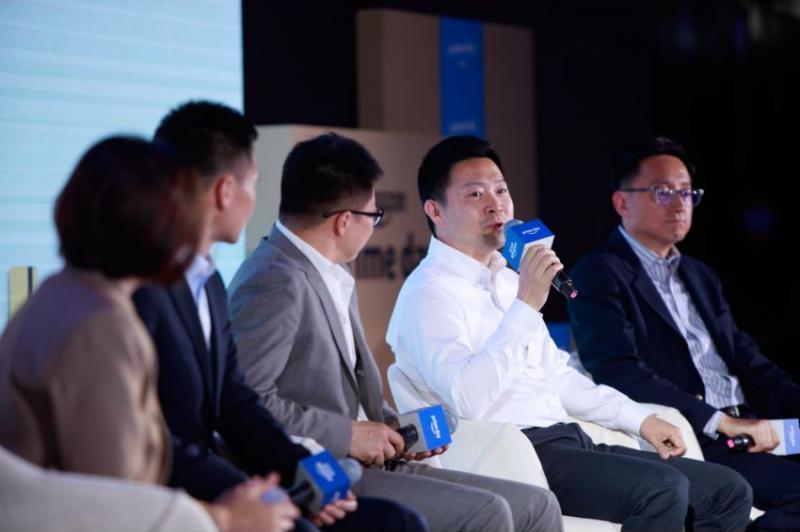 55Haitao CEO Allen Gu, Amazon Amazon Overseas Shopping media communication meeting  (Beijing, June 2, 2021)