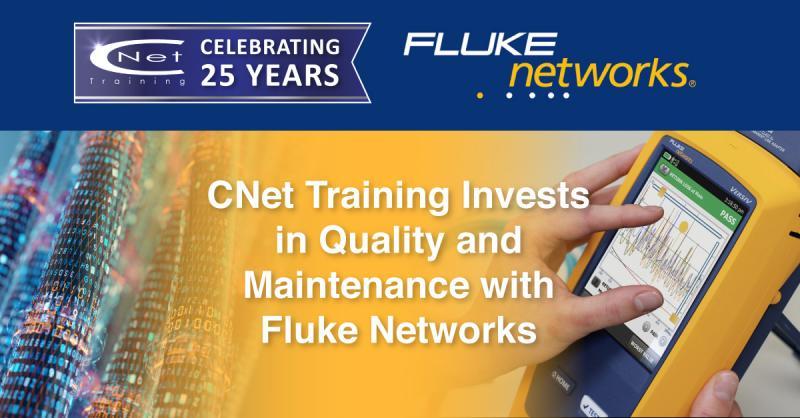 FlukeNetworks and CNet Training
