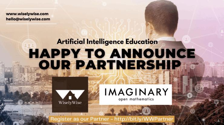 Partnership Announcement : WiselyWise and Imaginary