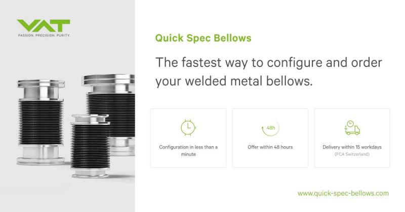 Fast Track to Edge Welded Bellows