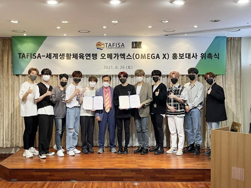 K-Pop Group 'Omega X' is the New Ambassador for TAFISA