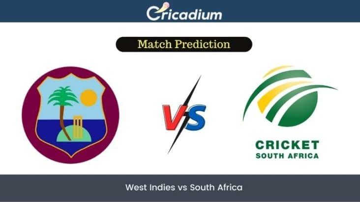 WI vs SA  Match Prediction Today 4th T20I - July 1st, 2021