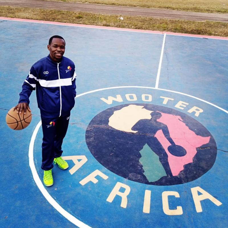 Over the past five years, Hamid Suleiman Ahmad has provided community outreach through basketball and sports in East Africa.