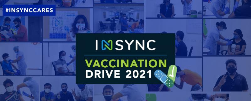 With the second pandemic wave crippling the Indian Healthcare Infrastructure, INSYNC carried out its first vaccination drive