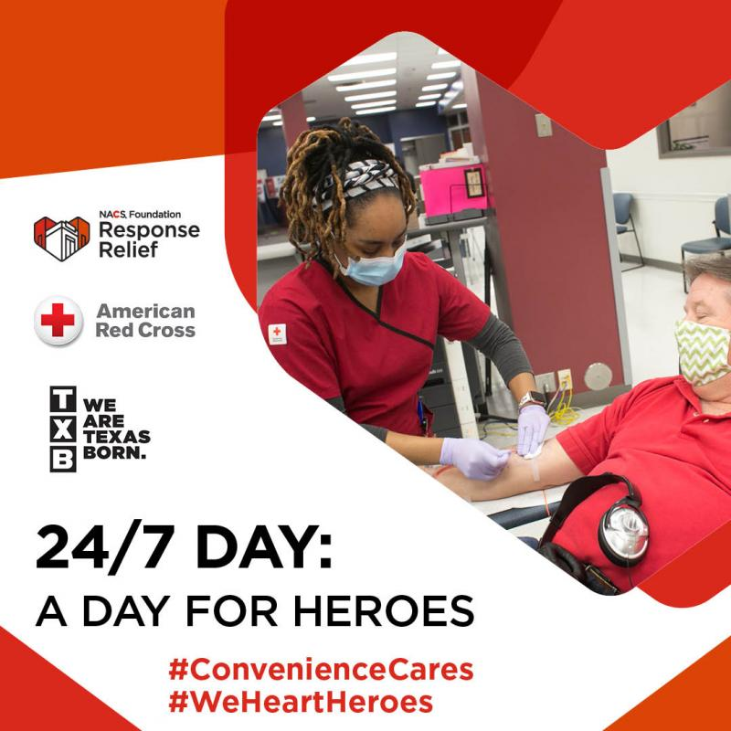 TXB HONORS FRONTLINE HEROES IN LOCAL COMMUNITIES THIS 24/7 DAY