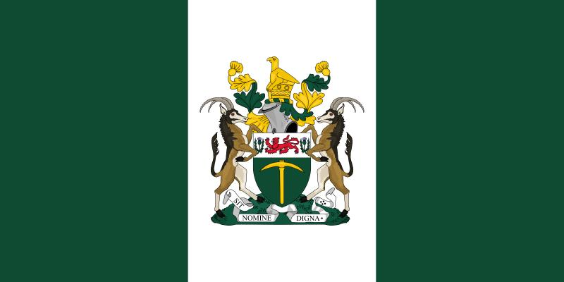 The Flag of the Republic of Rhodesia