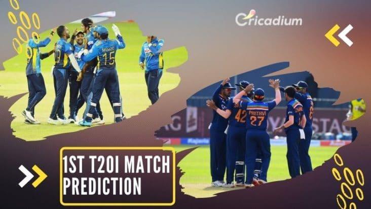 1st T20I Sri Lanka vs India Today Match Prediction