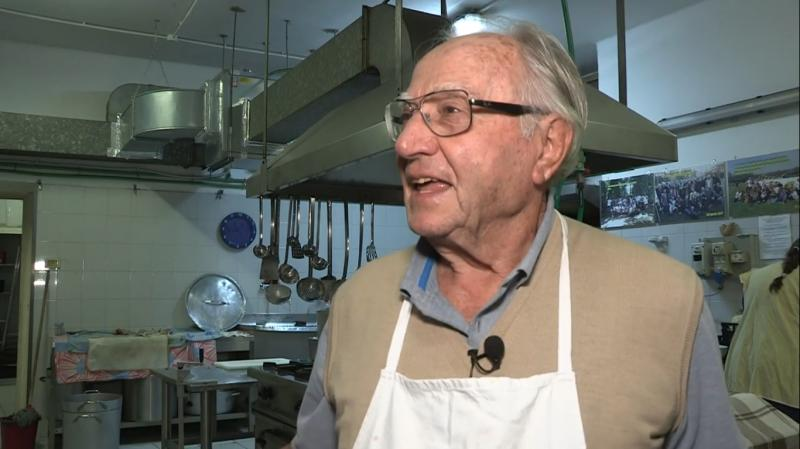 """Dino Impagliazzo 'The chef of the poor"""" dies in Rome, Italy"""