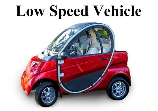 Low Speed Electric Vehicles