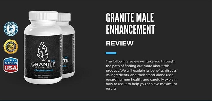 Granite Male Enhancement - [Canada] ® Shark Tank Reviews!