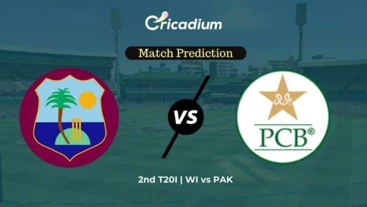Who Will Win 2nd T20I West Indies vs Pakistan Match Prediction