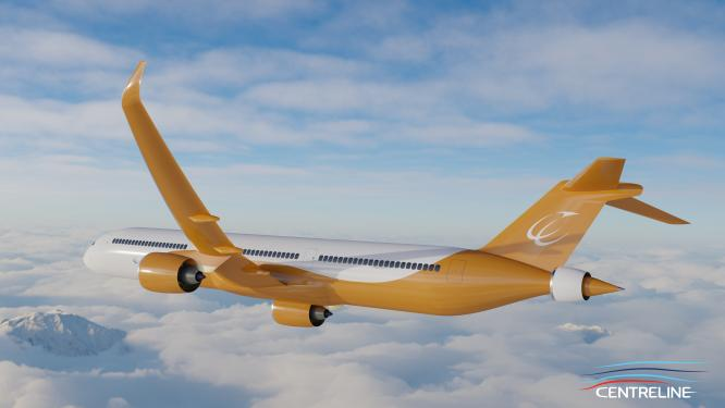 ©Bauhaus Luftfahrt e.V. CENTRELINE turbo-electrically driven fuselage wake-filling aircraft