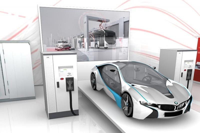 Electric Vehicle Rapid Charger